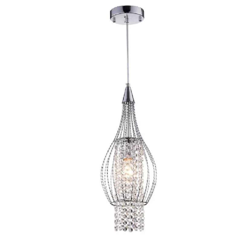 WWarehouse of Tiffany RL8048/1 Xyza Crystal Ceiling Light Chandelier