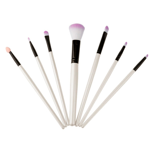 White And Pink Makeup Brushes