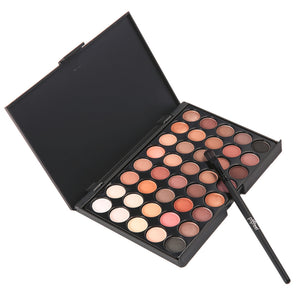 40 Colours Eyeshadow Palette With Brush