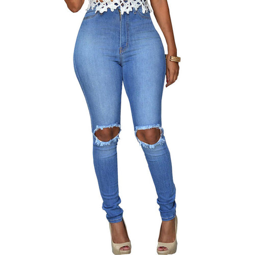 Pencil Stretch Skinny Jeans