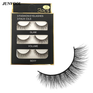 Thick False 3D Lashes