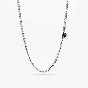 SILVER COLUMBIA THREE NECKLACE CHAIN