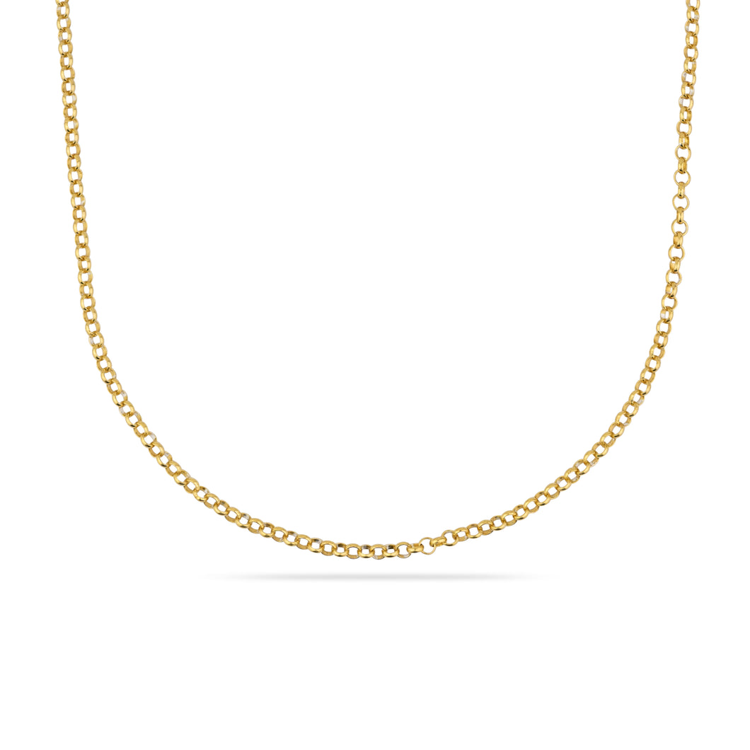 GOLD COLUMBIA ONE NECKLACE CHAIN