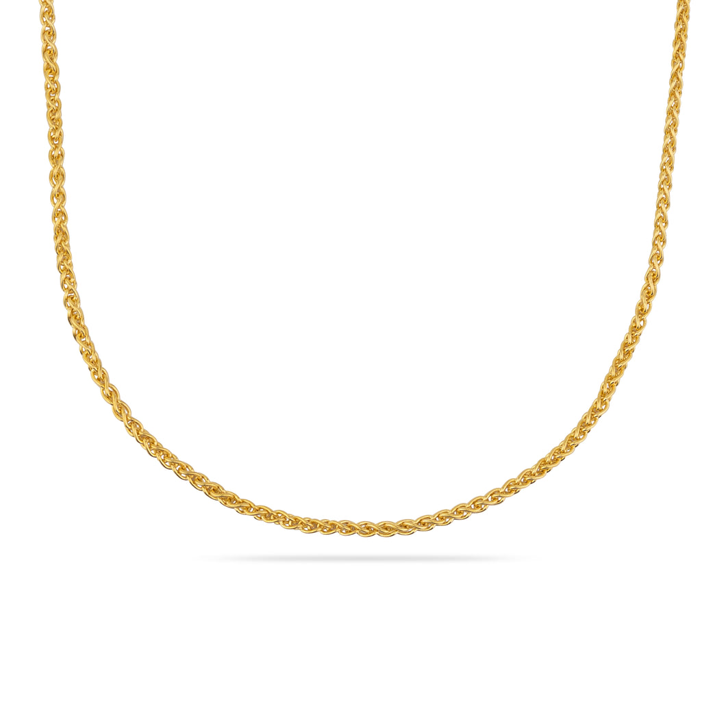 GOLD COLUMBIA TWO NECKLACE CHAIN