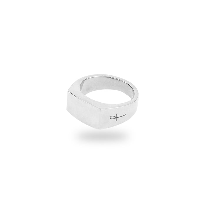 SILVER MONTPELIER RING