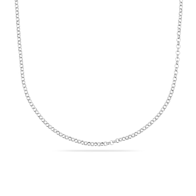 SILVER COLUMBIA ONE NECKLACE CHAIN