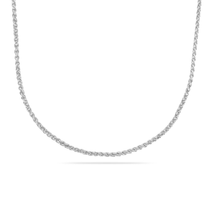 SILVER COLUMBIA TWO NECKLACE CHAIN