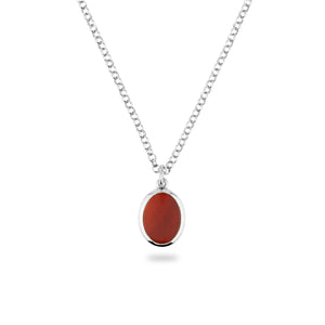 JAMESTOWN CARNELIAN (oval)