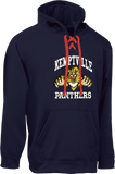 PANTHERS - Adult Fleece Hoodie with Lace POS