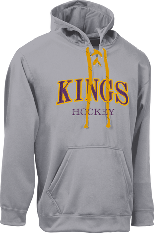 Kings 30th - Fleece Hoodie with Lace