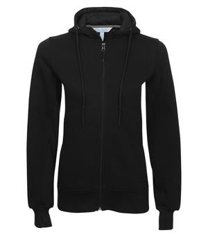 Ladies Fleece Zip Hoodie - Inventory
