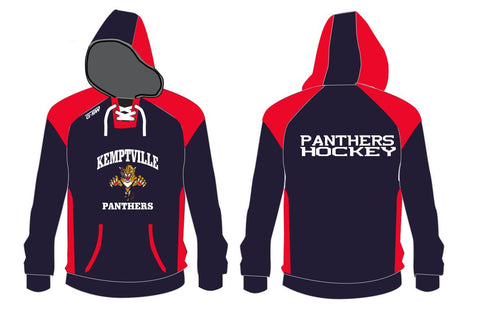 KEMPT. Panthers - Embroidered Hoodie
