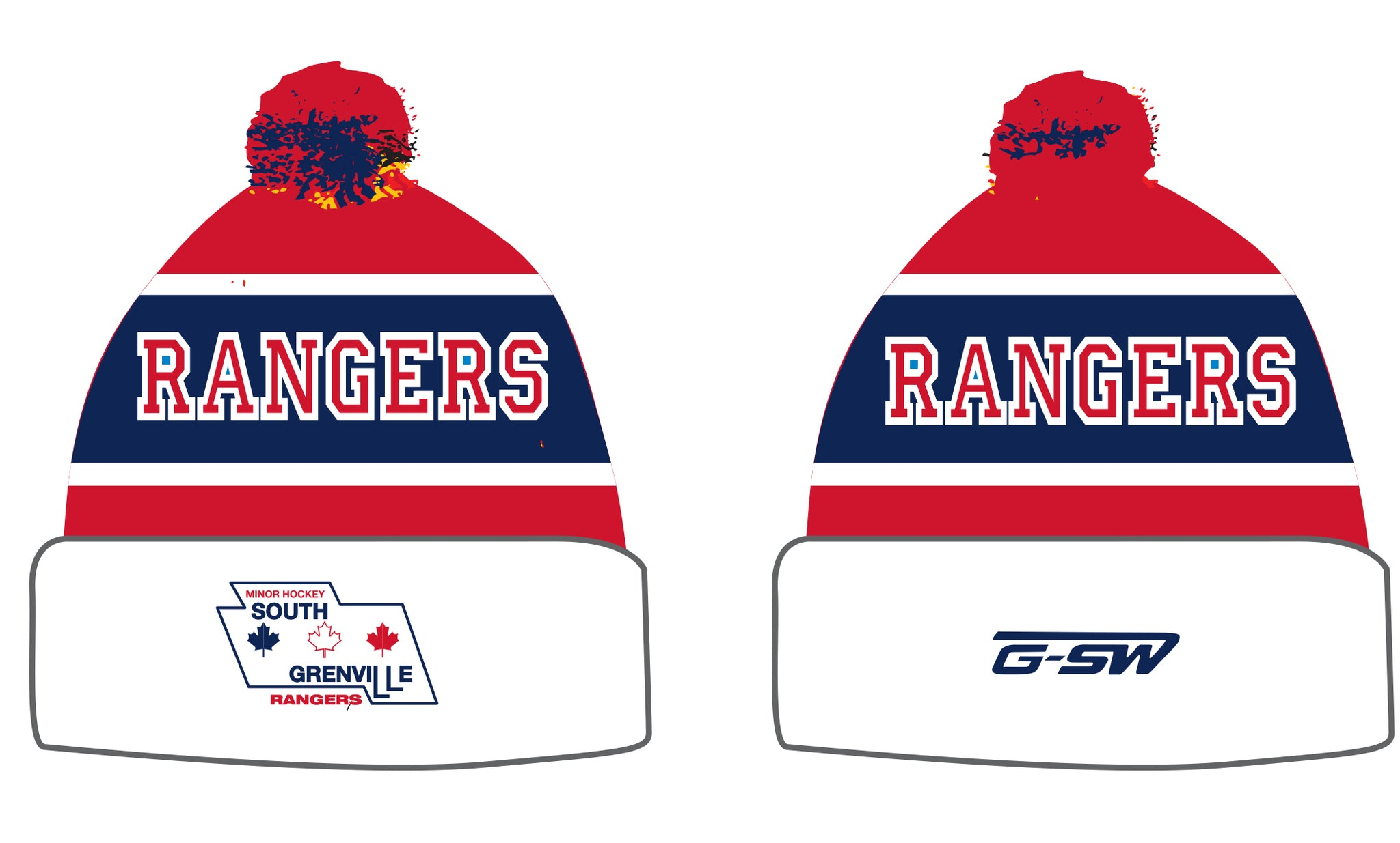 SG Rangers - Custom Toque - Inventory