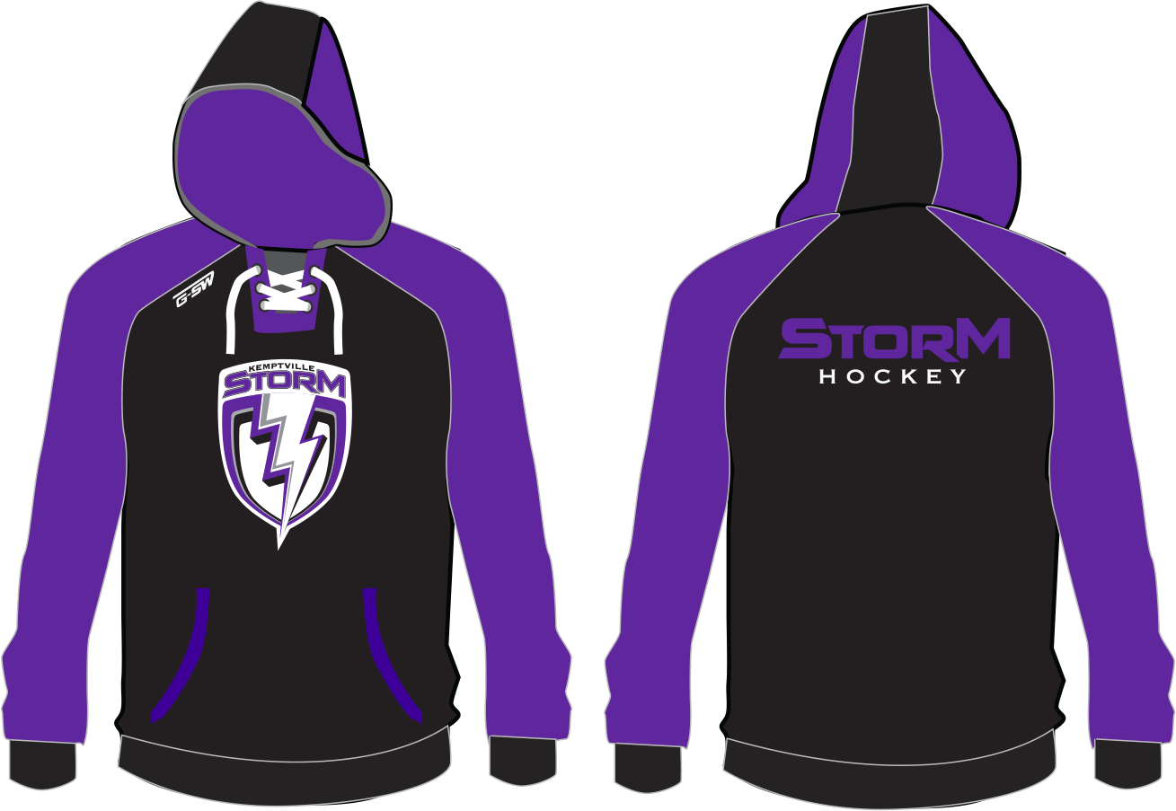 STORM - Embroidered Hoodie - Inventory