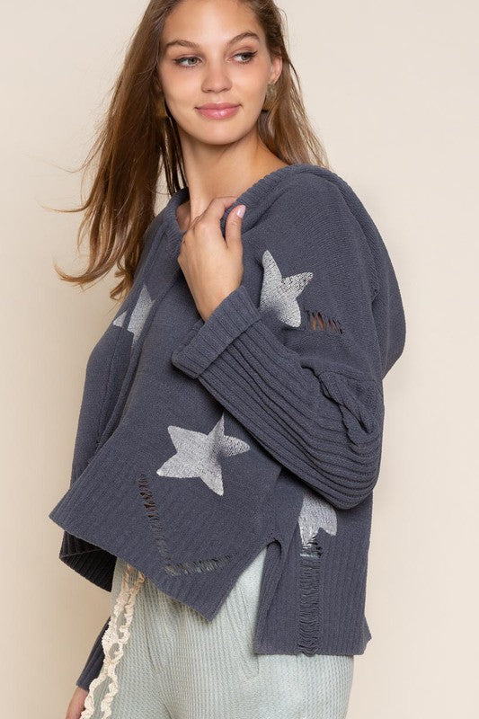 Oversized Star Sweater