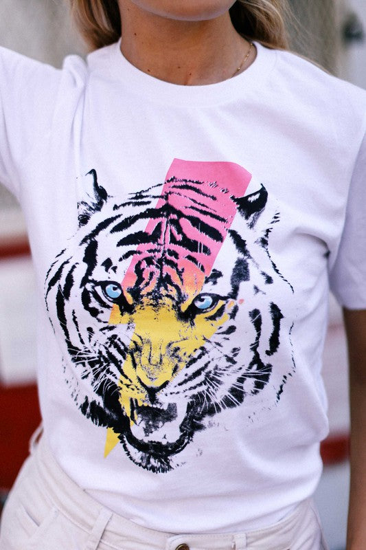 BOWIE TIGER GRAPHIC TEE
