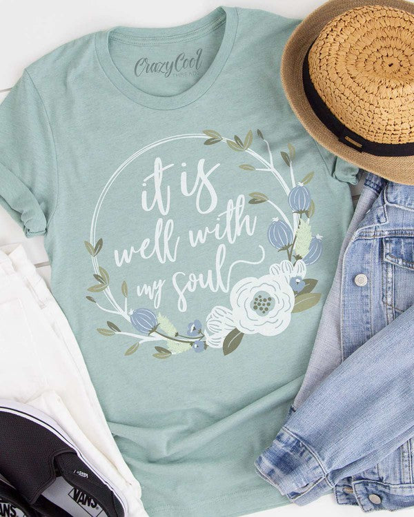It Is Well With My Soul - Floral