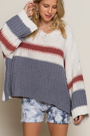 Urban Chic Oversized Chenille Sweater