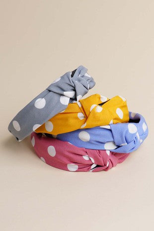 Polka-Dot Headbands