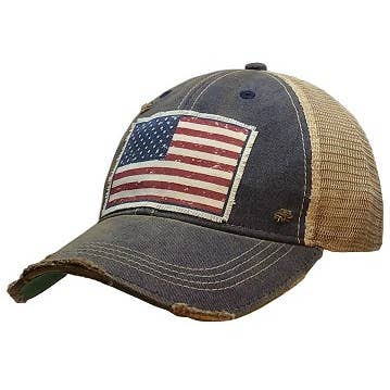 American Flag USA Distressed
