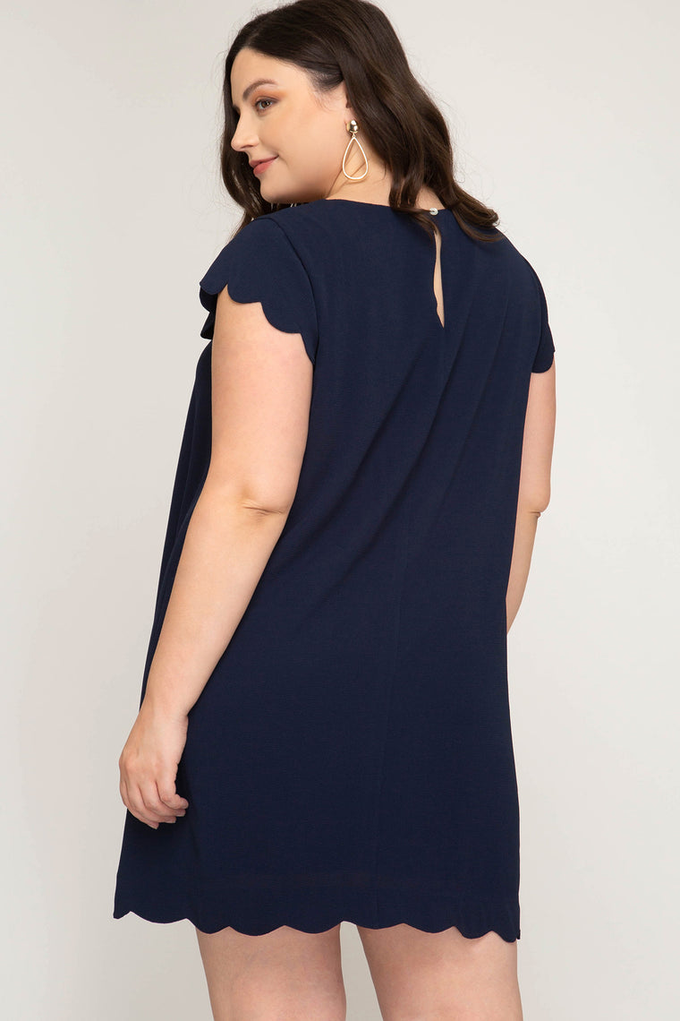 CAP SLEEVE SHEATH DRESS