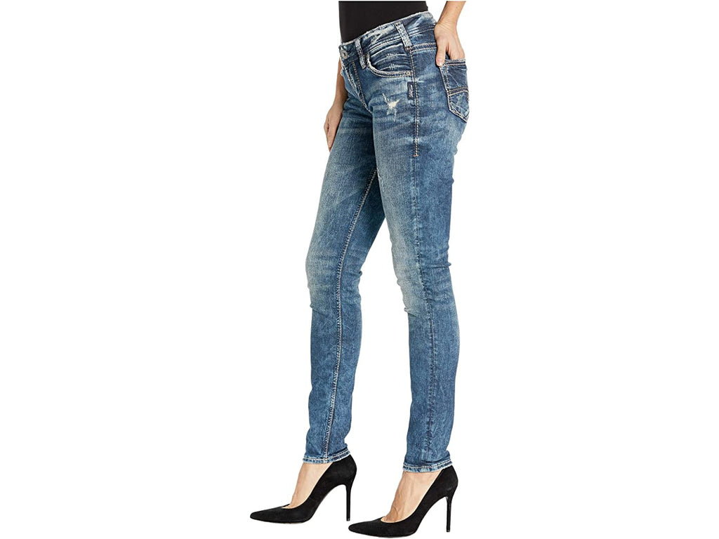 Silver Girlfriend Jeans
