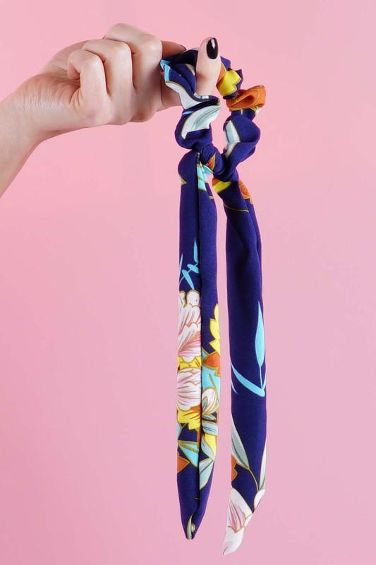 Tropical Hair Scrunchies