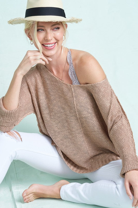 Very Soft & Fine Luxe Sweater Top