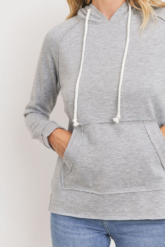 Baby Fleece Front Pocket Hood