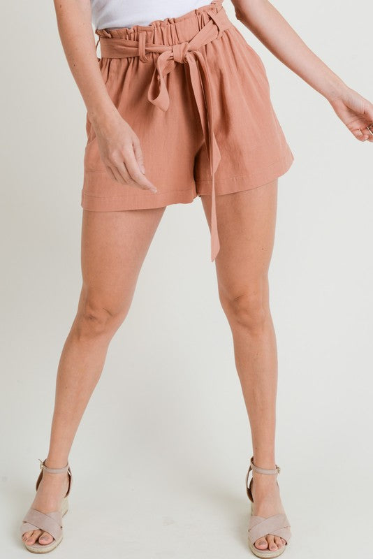 Cotton Candy LA Shorts With Lip Back Pocket Detail