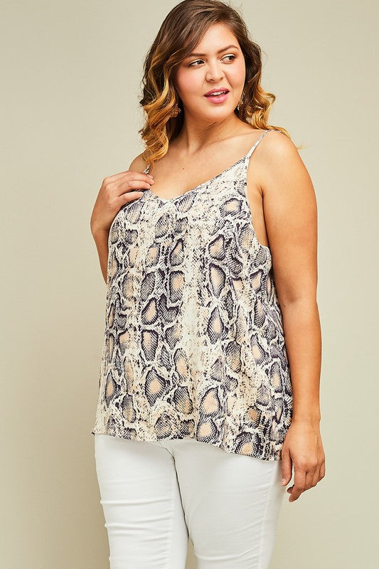 Snake Camisole Tank