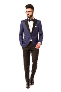 COSTUM BLUE TUX