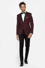 costum burgundy