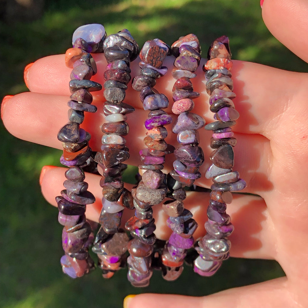 Sugilite Stretch Bracelet