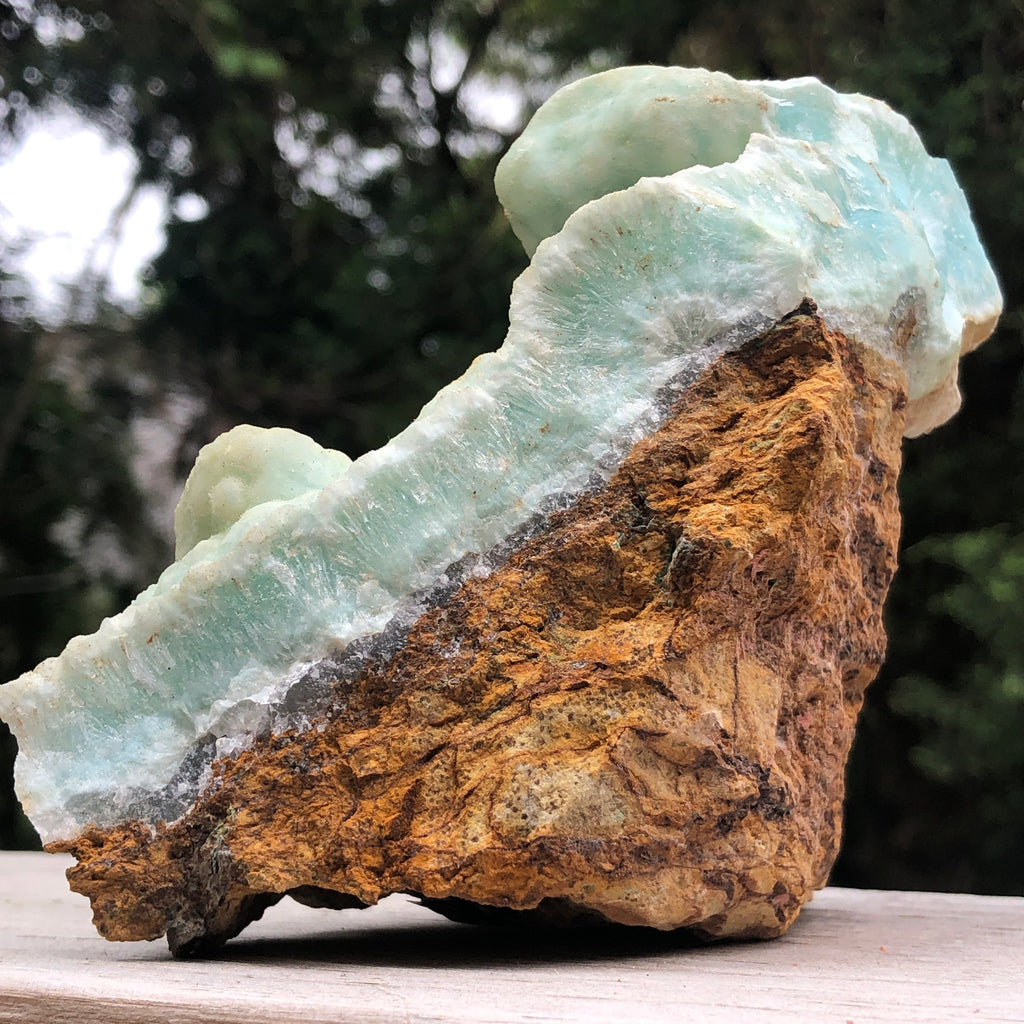 Hemimorphite in Matrix Raw