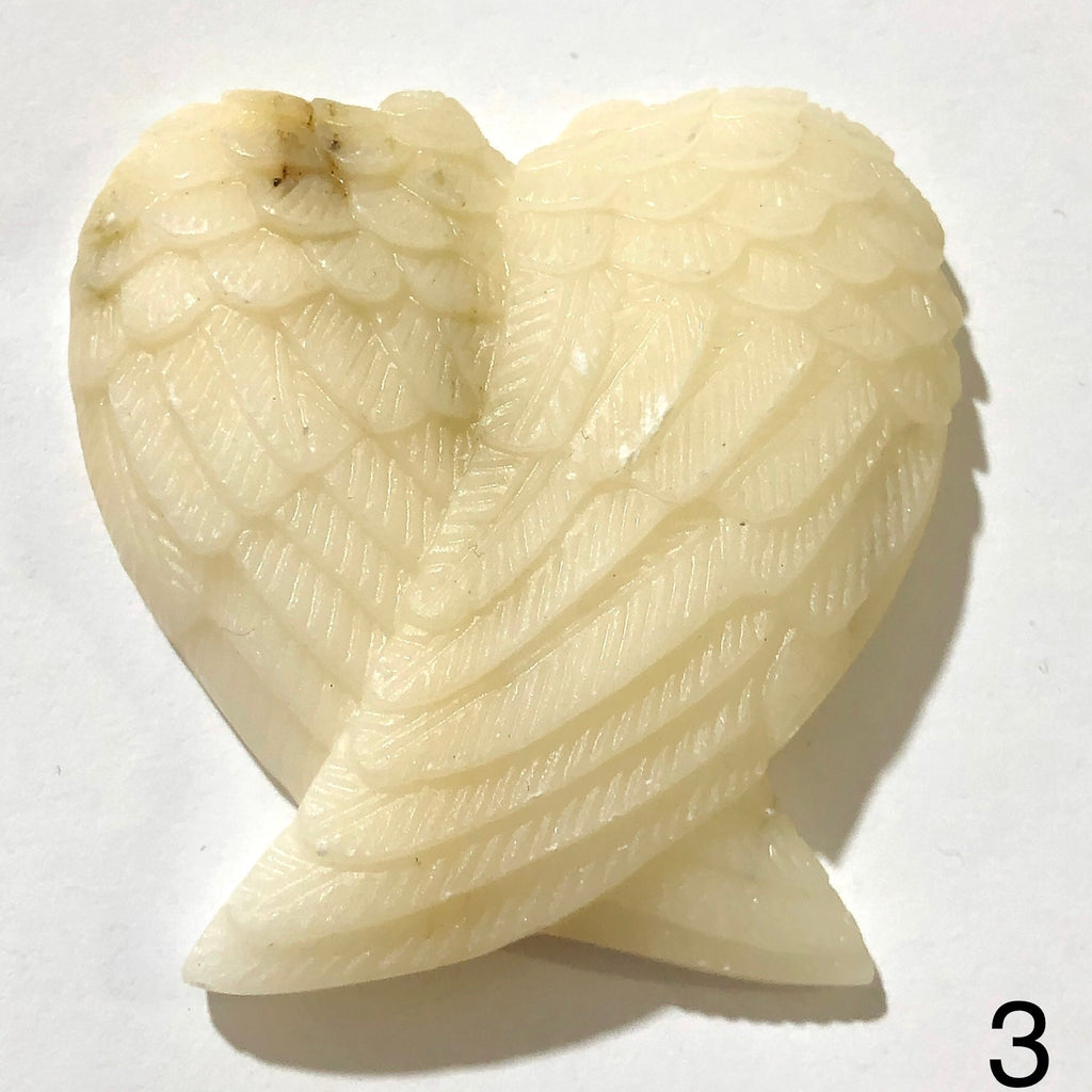 Angel Wings Carved