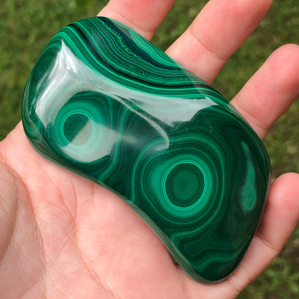 #113 Malachite Polished Freeform
