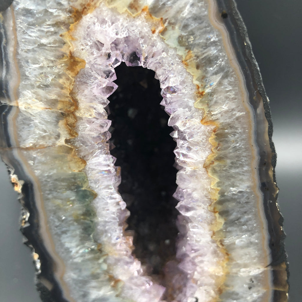 Amethyst Cluster Cave