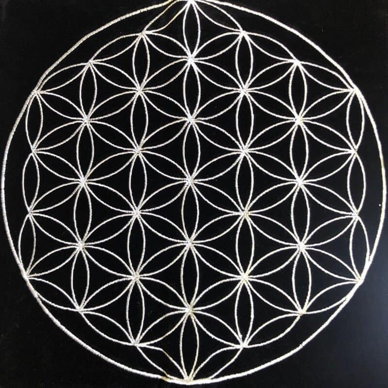 Flower of Life Grid Mat