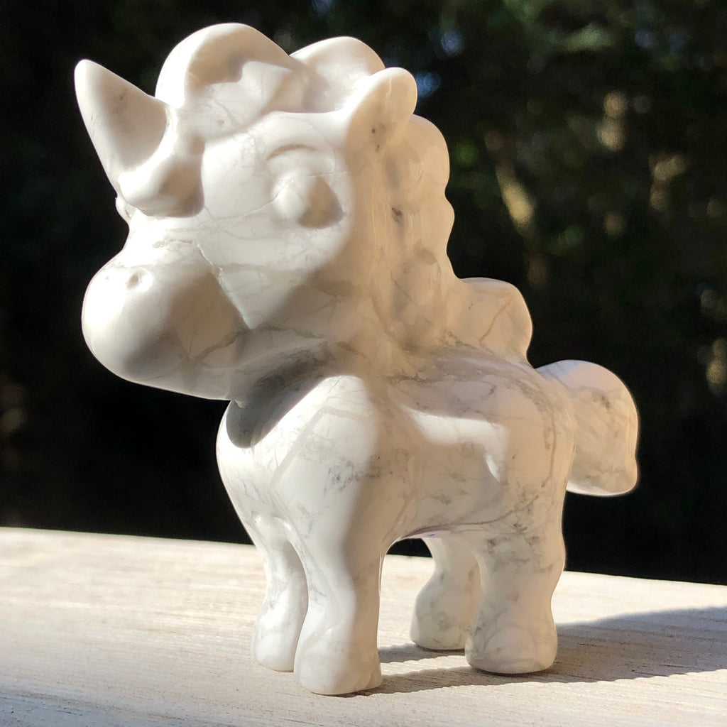 Howlite Cartoon Unicorns
