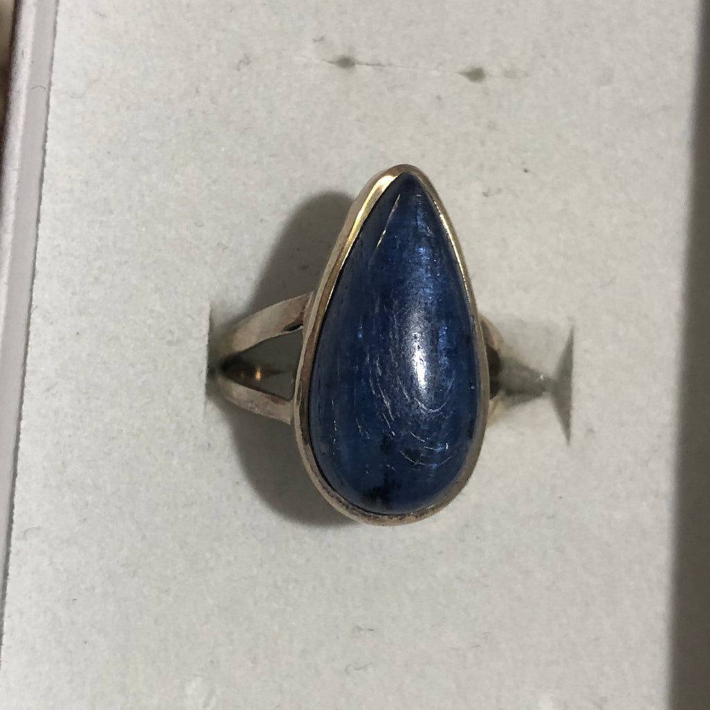 Kyanite Sterling Silver Ring 7 (N.5)
