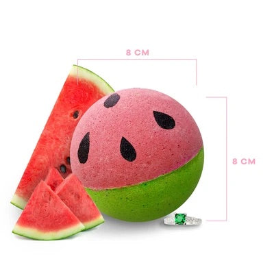 Watermelon Crush - BATH BOMB - with Jewellery Surprise - Royal Essence