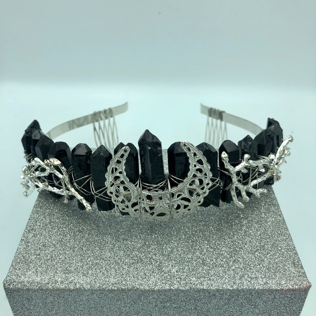 Jelly Quartz Crystal Crowns