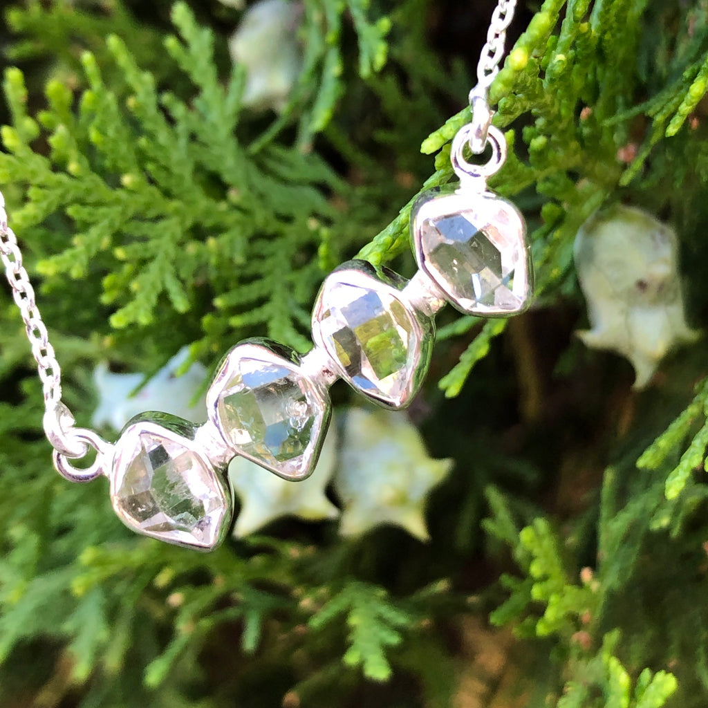 #433 Herkimer Diamond Necklace