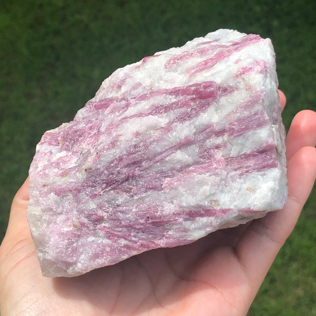 Raw Pink Tourmaline in Albite #122