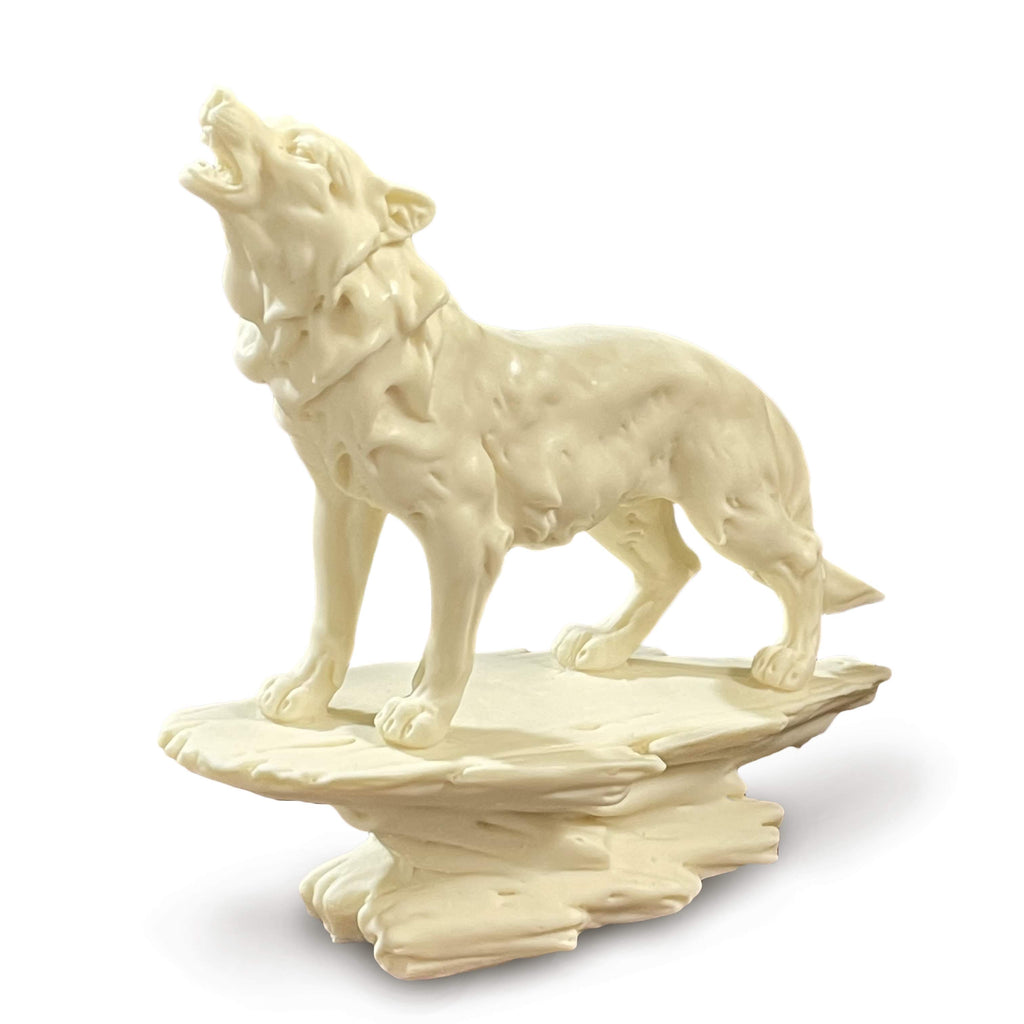 Wolf Statue - Tagua Nut