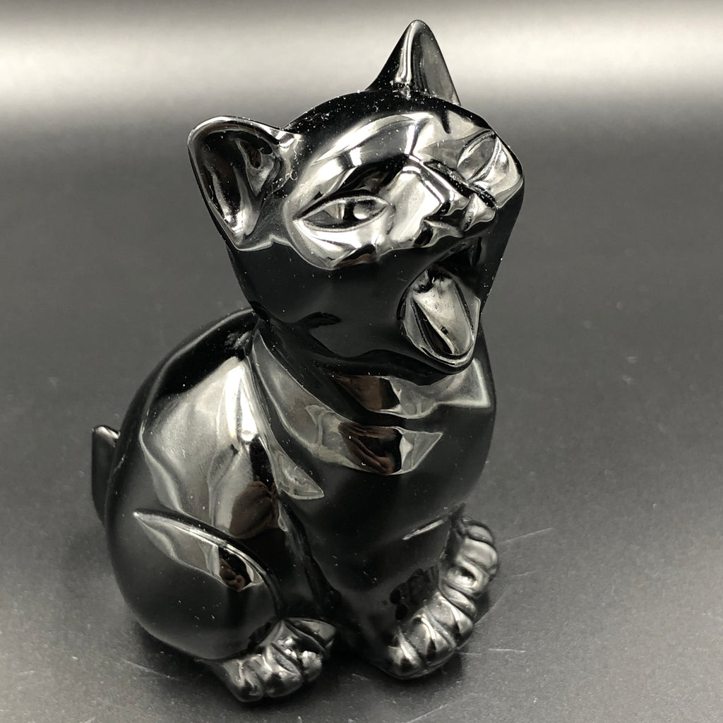 Black Obsidian Cat