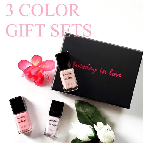 eid gifts 3 color nail polish set