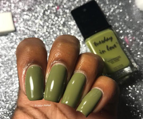 green machine halal nail polish