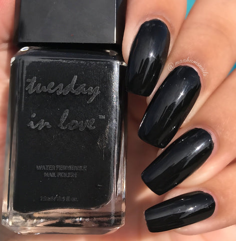 midnight dance halal nail polish
